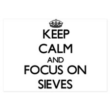 Keep Calm and focus on Sieves Invitations