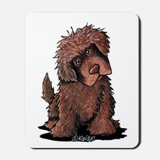 Brown Newfie Mousepad