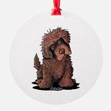 Brown Newfie Ornament