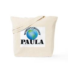 World's Greatest Paula Tote Bag