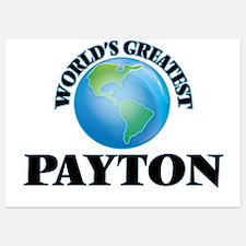 World's Greatest Payton Invitations