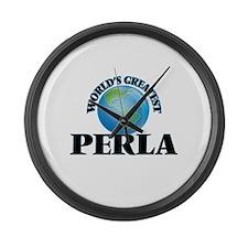 World's Greatest Perla Large Wall Clock