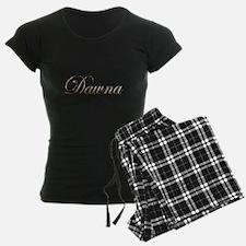 Gold Dawna Pajamas