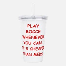 bocce Acrylic Double-wall Tumbler
