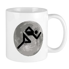 Runner Moon Mugs