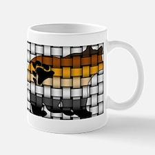 BEAR PRIDE BEAR-WOVEN Mug