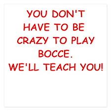 BOCCE Invitations