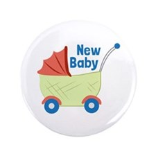 """New Baby 3.5"""" Button"""