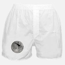 Pole Vaulter Moon Boxer Shorts