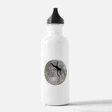 Pole Vaulter Moon Water Bottle