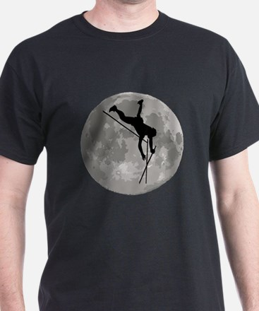 Pole Vaulter Moon T-Shirt