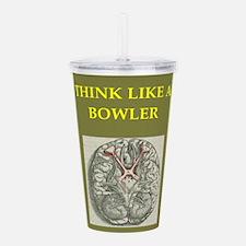 bowler Acrylic Double-wall Tumbler