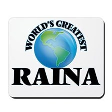 World's Greatest Raina Mousepad