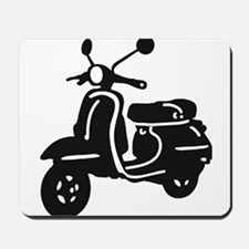 Moped Retro Scooter Mousepad