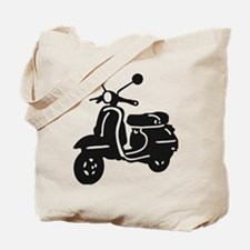 Moped Retro Scooter Tote Bag