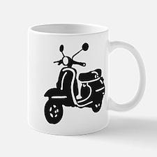 Moped Retro Scooter Mugs