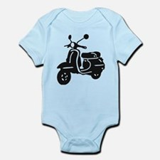 Moped Retro Scooter Body Suit