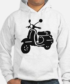 Moped Retro Scooter Hoodie