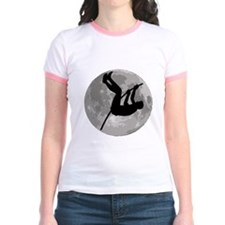 Pole Vaulter Moon T-Shirt