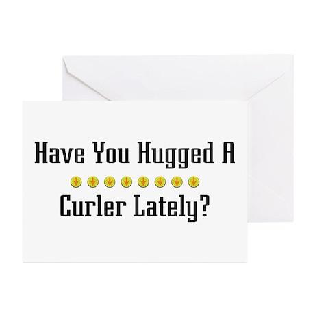 Hugged Curler Greeting Cards (Pk of 10)