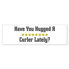 Hugged Curler Bumper Bumper Sticker