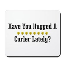 Hugged Curler Mousepad