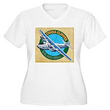 China Clipper Plus Size T-Shirt