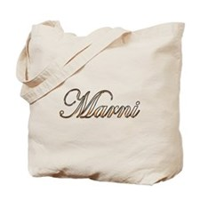 Gold Marni Tote Bag