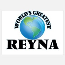 World's Greatest Reyna Invitations