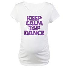Keep Calm and Tap Dance (purple) Shirt
