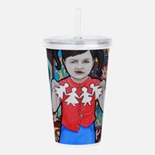 Different Acrylic Double-wall Tumbler
