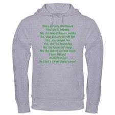 Wolfie Questions Answered (she) Jumper Hoody