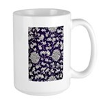 Abstract Whimsical Flowers Mugs