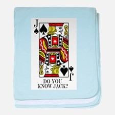 do you know jack1.png baby blanket