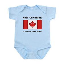 Half Canadian Body Suit