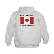 Half Canadian Hoodie