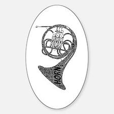 Horn Decal