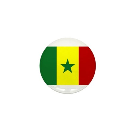 senegal flag Mini Button (100 pack)