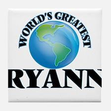 World's Greatest Ryann Tile Coaster