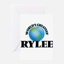 World's Greatest Rylee Greeting Cards