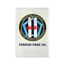 Terror-Free Oil Rectangle Magnet (10 pack)