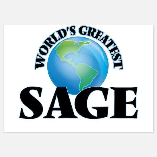 World's Greatest Sage Invitations