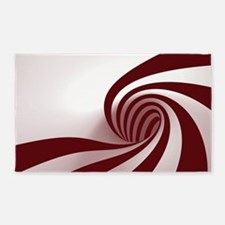 Peppermint Swirl 3'x5' Area Rug