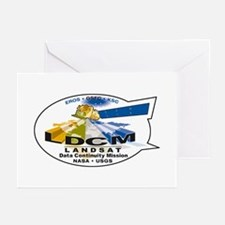 LDCM 8 Logo Greeting Cards (Pk of 10)