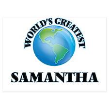 World's Greatest Samantha Invitations