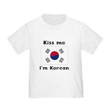 Kiss Me Im Korean T-Shirt