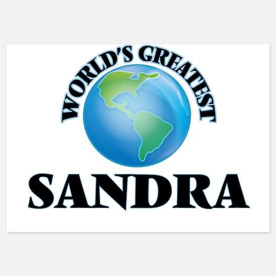 World's Greatest Sandra Invitations