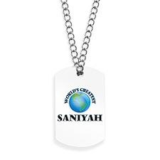 World's Greatest Saniyah Dog Tags