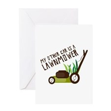My Other Car Greeting Cards