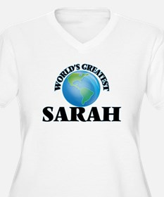 World's Greatest Sarah Plus Size T-Shirt